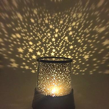 Starry Night Light Star Light Iluminação de LED Lâmpada do projetor Luz de cama de quarto Brinquedos Estrela Galáxia Para Meninas Para