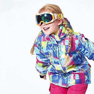 Dla dziewczynek / Dla chłopców Kurtka narciarska Ciepły, Wentylacja, Wiatroodporna Narciarstwo / Multisport / Sporty zimowe Poliester,