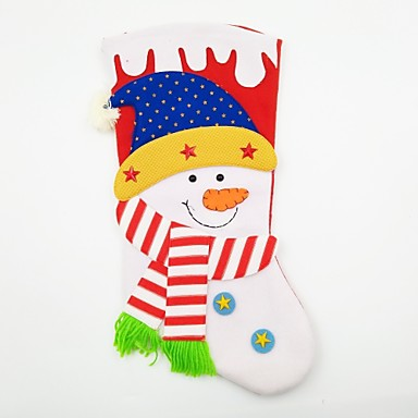 Rekwizyty świąteczne Dekoracje bożonarodzeniowe Artykuły na przyjęcie bożonarodzeniowe Zabawki Skarpetki Bałwan Święto XL Święto Kostiumy