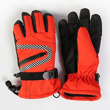 Rękawice narciarskie Dla dzieci Full Finger Keep Warm Nylon Narciarstwo Piesze wycieczki Outdoor Exercise Kolarstwo / Rower Zima