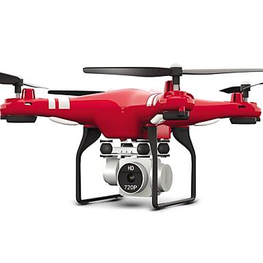 RC Dron FLYRC X52HD 4 Kalały Oś 6 2,4G Z kamerą HD 1.0MP 1080P*720P Zdalnie sterowany quadrocopter Kamera Szerokokątna WIFI FPV Wysokość