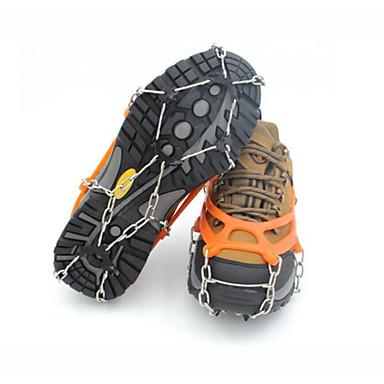Raki Korki i łańcuchy na buty Obuwie turystyczne Non-Slip Wspinaczka Outdoor Exercise Metal Gumowy cm szt