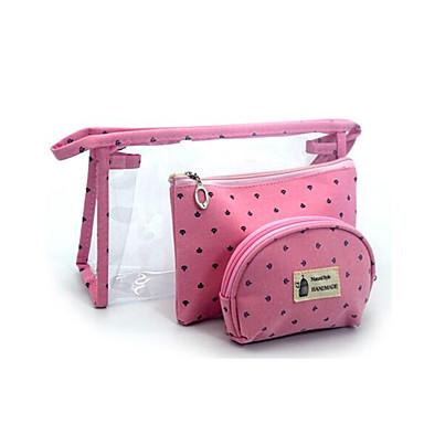 3 sztuk / zestaw kosmetycznych torby wodoodporne przenośne makijaż torba pokrowiec kosmetyczka podróży Pvc