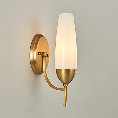 Modern / Contemporary Kraj Lampy ścienne Na Living Room Sypialnia Metal Światło ścienne 110-120V 220-240V 60W