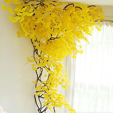 Sztuczne Kwiaty 12 Gałąź Styl nowoczesny / Pasterski Styl Rośliny Kwiaty na ścianę / Nie wliczone