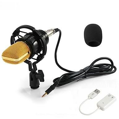 KEBTYVOR BM700 Przewodowy / a Mikrofon zestawy Mikrofon kondensatorowy Mikrofon ręczny Na PC