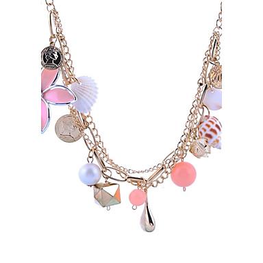 Damen Süß Elegant Anhängerketten Imitierte Perlen Künstliche Perle Aleación Anhängerketten . Ausgehen