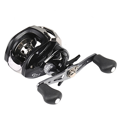 cheap Fishing Reels-Fishing Reel Baitcasting Reel 7.1:1 Gear Ratio+18 Ball Bearings Right-handed / Left-handed Sea Fishing / Bait Casting / Ice Fishing - BC200 / Spinning / Jigging Fishing / Freshwater Fishing