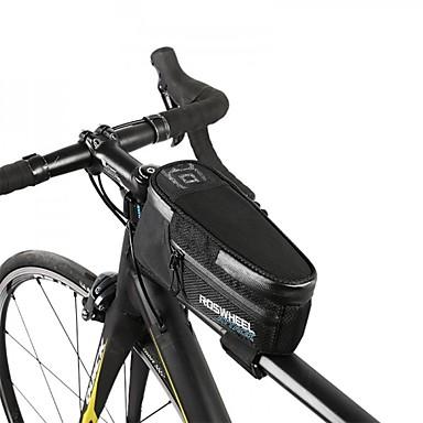 ROSWHEEL 1.5 L Bike Frame Bag Top Tube Waterproof Zipper Bike Bag Nylon Bicycle Bag Cycle Bag Cycling Cycling / Bike