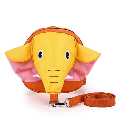 Kind Taschen Nylon Kindertaschen Elefant Randverzierung für Normal Ganzjährig Blau Gelb