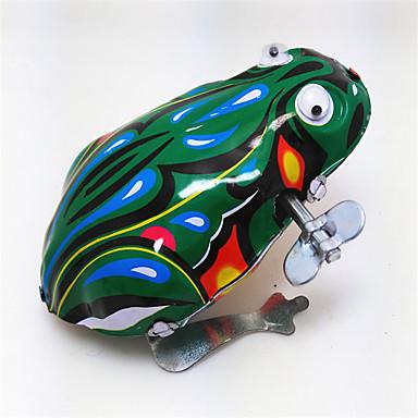 Aufziehbare Spielsachen Spielzeuge Frosch Tiere Retro Stücke Geschenk