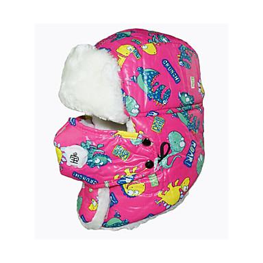 Kominiarka narciarska Narty Maska Skull Caps Dla dzieci Dla obu płci Ciepły Pyłoszczelne Snowboard Bawełna Litera i numer Rysunek
