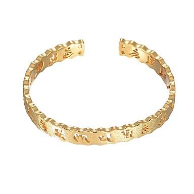 abordables Bracelet-Manchettes Bracelets Femme Note de Musique Mode Bracelet Bijoux Dorée pour Mariage Quotidien
