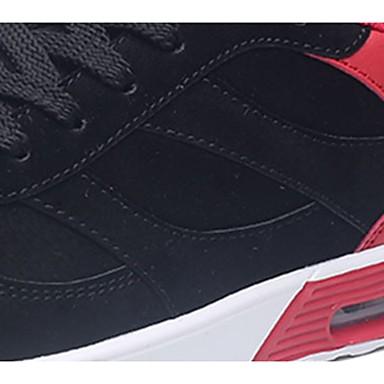Męskie Buty PU Wiosna Jesień Comfort Tenisówki Na Casual Gray Black/White Black/Red