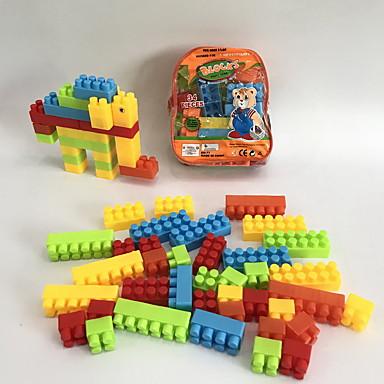 hesapli Oyuncaklar ve Oyunlar-Legolar 34 pcs Fil / Aile / Hayvan El Çantaları / Karikatür Oyuncak / Karton Dizayn Hayvanlar / Sırt Çantası / Hayvan Tasarımı Genç Erkek Hediye