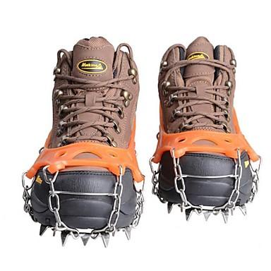 e6b9692fa9c Snekæder til sko Klatring Beskyttelse Crampon fastspændingspigge til sko  Udendørs Anti-skrid Metallegering Gummi silica