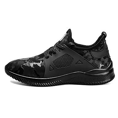 Herren Schuhe PU Winter Komfort Sportschuhe Basketball Für Sportlich Normal Grau Schwarz und Gold