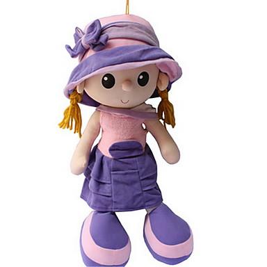 Plüschpuppe 18inch Niedlich, Karikatur Spielzeug, Kindersicherung Mädchen Kinder Geschenk