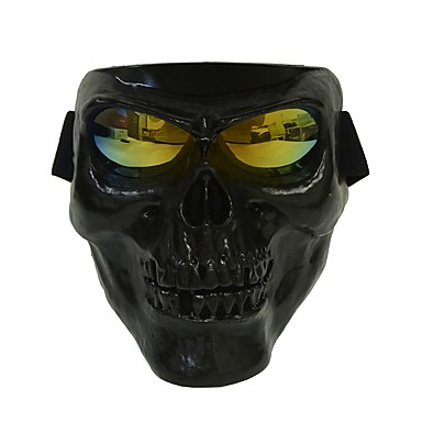 plastikowe maski czaszki halloween szkielet maski na zewnątrz całą twarz