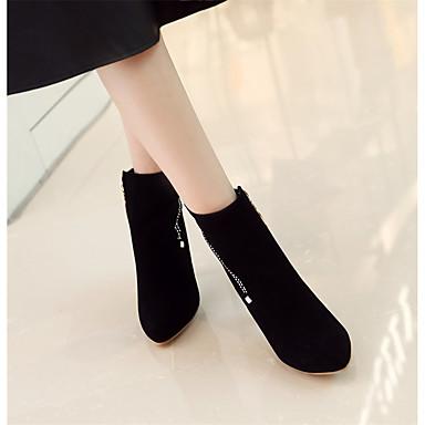 06366829 Hiver pointu Chaussures Botte Bout Similicuir Botillons Mode Gris Bottine Rose Bottes Bottes la Amande Demi à Femme wFTHqvEE