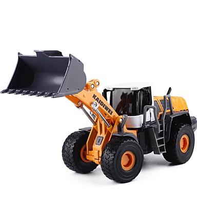 Koparka Ładowarka kołowa Zgarniarka kołowa Pojazdy budowlane i ciężarówki do zabawy Samochodziki do zabawy Zabawka edukacyjna 1:50