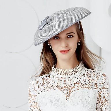 billige Hodeplagg til fest-Silke / Kipervev Kentucky Derby Hat / Hatter med 1 Bryllup / Fest / aften Hodeplagg