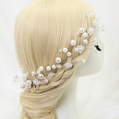 Kryształ / Sztuczna perła / Stop Szpilka do włosów z 6 szt. Ślub / Specjalne okazje Winieta