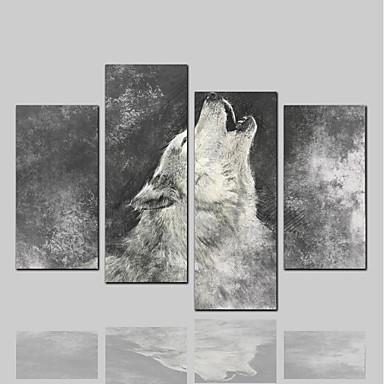 Nadruk na płótnie Klasyczny Rustykalny Nowoczesny, Cztery panele Brezentowy Poziomy Wydrukować wall Decor Dekoracja domowa
