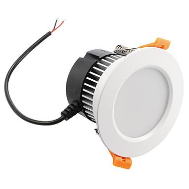 לד  Downlights 18PCS נוריות SMD 5730 דקורטיבי Spottivalo מופעל על ידי קול עובד עם שלט רחוק לבן חם לבן קר לבן טבעי RGB 650lm RGBWK AC