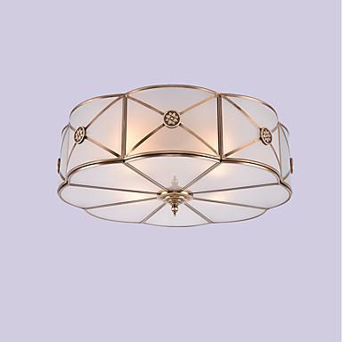 JLYLITE 4 światła Podtynkowy Światło rozproszone - Styl MIni, 110-120V / 220-240V Nie zawiera żarówek / 30-40 ㎡ / E26 / E27