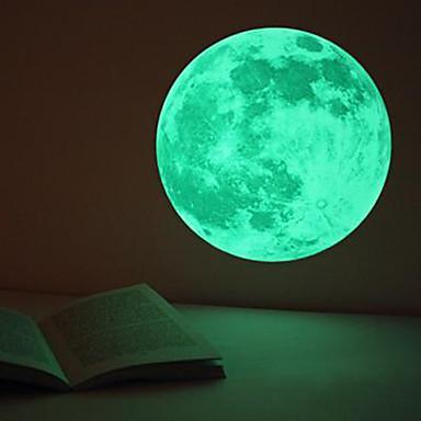 Bolas Adesivos Brinquedos Com Luzes Brinquedo de Arte & Desenho Brinquedos Circular Iluminação Fluorescente Brilha no Escuro Noctilucente