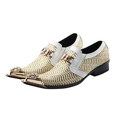 povoljno Muške oksfordice-Muškarci Formalne cipele Sintetika Proljeće / Jesen Vintage Oksfordice Obala / Vjenčanje / Zabava i večer / Cipele za noviteti