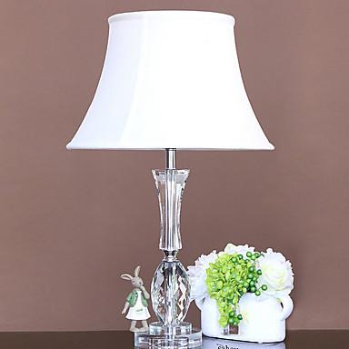 Artystyczny Prosty Ochrona oczu Lampa stołowa Na Szkła 220V White