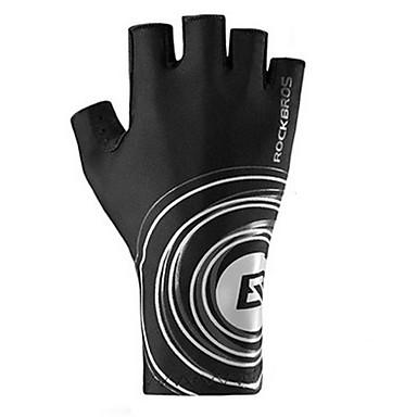 Rękawiczki sportowe Rękawiczki rowerowe Zdatny do noszenia Oddychający Skidproof Bez palców Mesh Kolarstwo / Rower Męskie