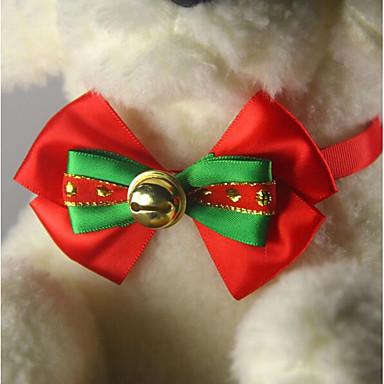 Psy Koty Krawat/Muszka Korygujący / Wysuwany Kokardka Inny Kokarda Inny materiał Czerwony