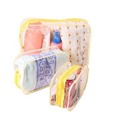 Cestovní taška na hygienické potřeby Organizér zavazadel Kosmetická taška Voděodolný Cestovní sklad tlusté Multifunkční pro Oblečení