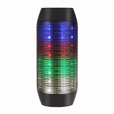 Flashing Speaker Udendørs Bærbar LED Lys Indbygget Mikrofon Support Hukommelseskort super bas Bluetooth 2.1 3.5mm AUX Trådløs