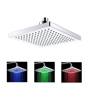 LED LED Chrom Cecha - Podświetlenie, Głowica prysznicowa
