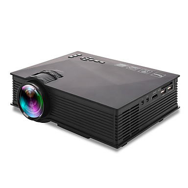 UNIC ZHG-UC46BG LCD Home Theater Projector LED Projector 1200 lm Support 720P (1280x720) 34-130 inch Screen / WVGA (800x480) / ±15°