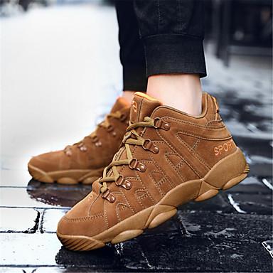 Automne Noir Talon Chaussures Marron 06465582 Basket Confort Femme Daim Gris Plat Printemps txAwqRF6