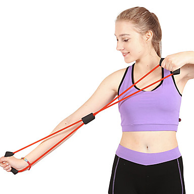 Hand Exercisers / Hand Grips / Chest Expander Exercise & Fitness / Gym Unisex Rubber