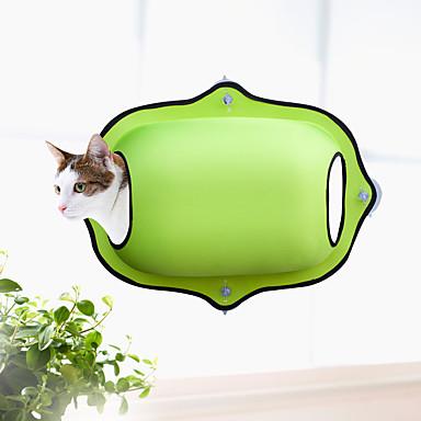 חתול מיטות חיות מחמד משטחים אחיד רך קל להתקנה נסיעות יום יומי\קז'ואל שחור קפה ירוק צבע הסוואה צבע חאקי עבור חיות מחמד