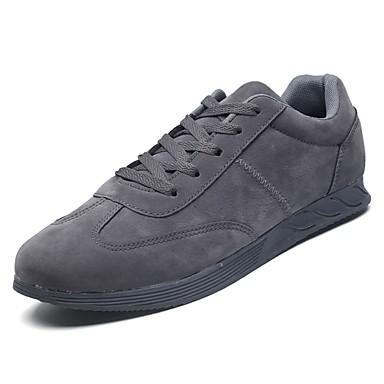 נעליים גומי אביב סתיו נוחות נעלי ספורט ל בָּחוּץ לבן שחור אפור