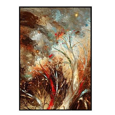 סרט מצויר ציור שמן וול ארט,סגסוגת אלומיניום חוֹמֶר עם מסגרת For קישוט הבית אמנות מסגרת פנימי