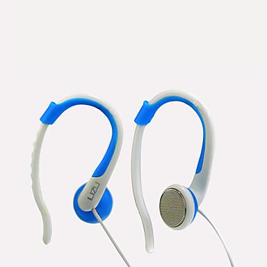 LIZU KL320 וו אוזן חוטי אוזניות דִינָמִי נחושת טלפון נייד אֹזְנִיָה עם מיקרופון אוזניות