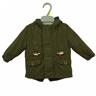 תִינוֹק חליפה ובלייזר כותנה שרוול ארוך יומי אחיד בנים רגיל ירוק צבא