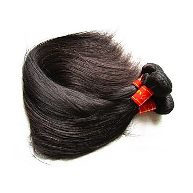 שיער בתולי ישר 300 g יותר משנה אחת יומי