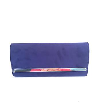 שקיות זמש / מתכת תיק יד שכבות ל מסיבה פול