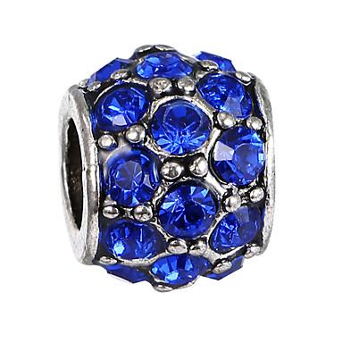כדור חרוזים תכשיטים DIY - אבן נוצצת ורוד פנינה / ירוק / כחול ים צמידים שרשראות