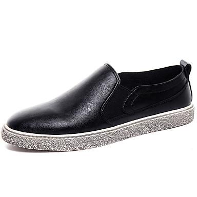 בגדי ריקוד גברים PU אביב / סתיו נוחות נעלי ספורט שחור / אפור